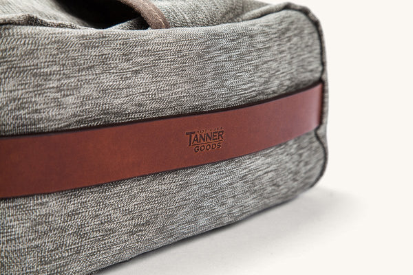 Tanner Goods Stowaway Bag salt pepper 2