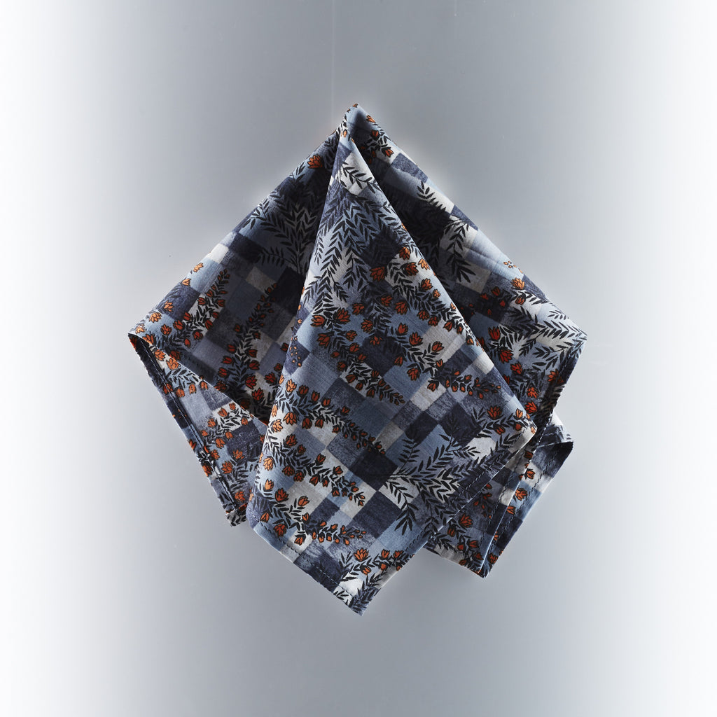 Footage Pocket Square - Liberty London Art Fabric