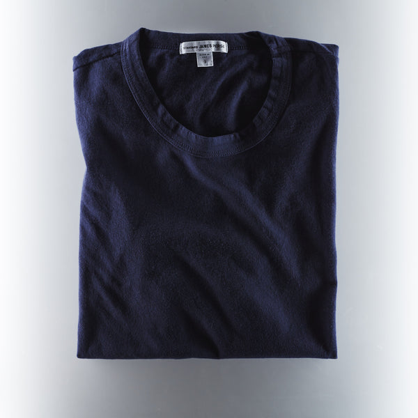 James Perse Men's Short Sleeve Crew Neck T-Shirt - Navy