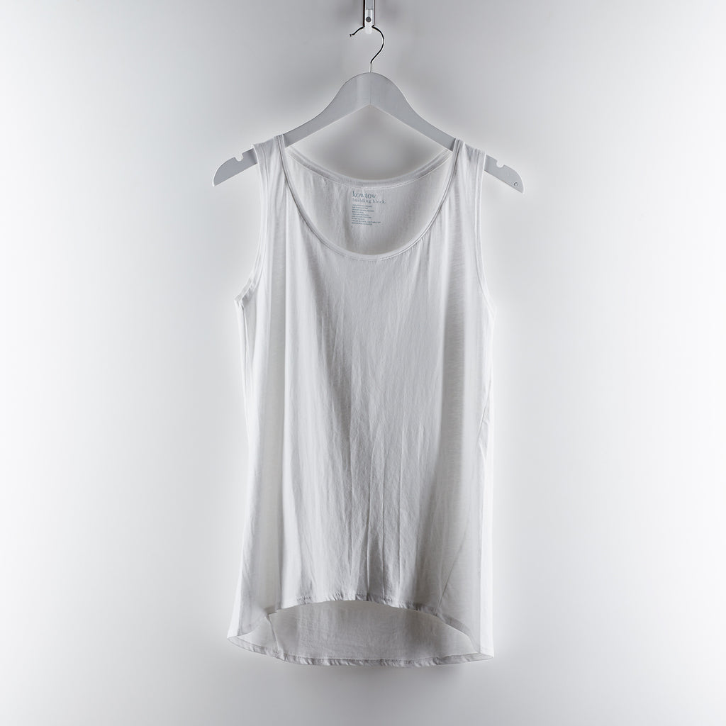 Kowtow Clothing Building Block Singlet - White