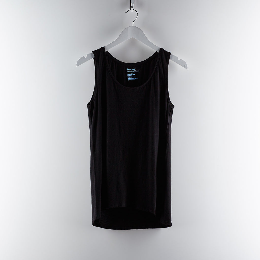 Kowtow Clothing Building Block Singlet - Black