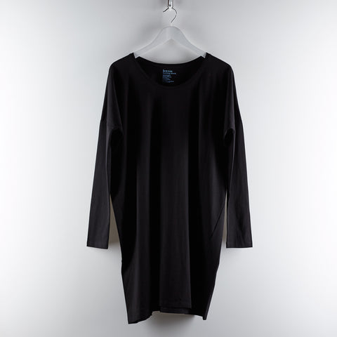 Building Block Oversized Dress - Black
