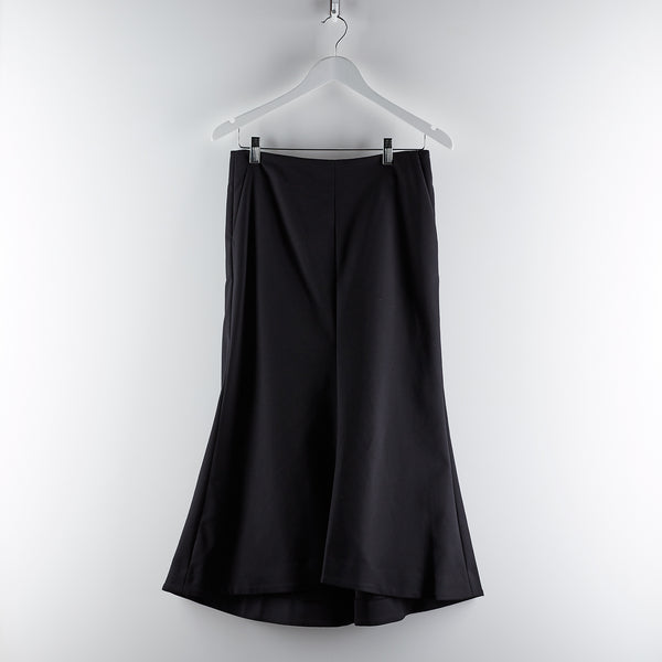 Tibi Agathé Fluted Skirt Black