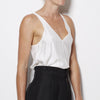 James Perse Women's V Neck Tank - White