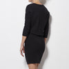 James Perse - Dolman Blouson Back Dress - Washed Black