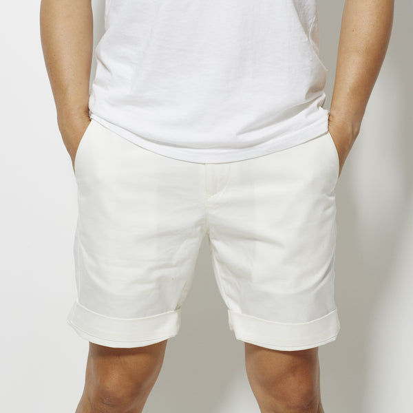 Footage Newport Slim Shorts - White