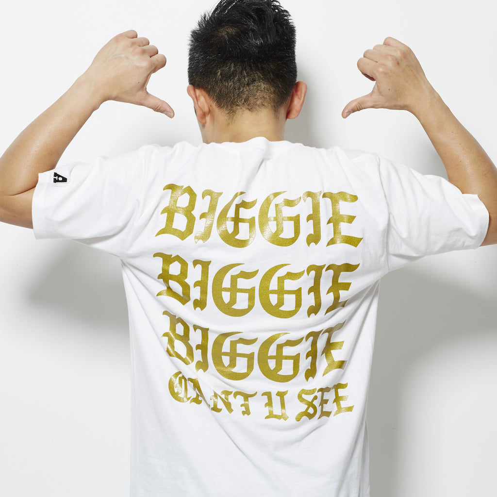 Hypnotize (I Feel Like Biggie) Tee - White/Gold