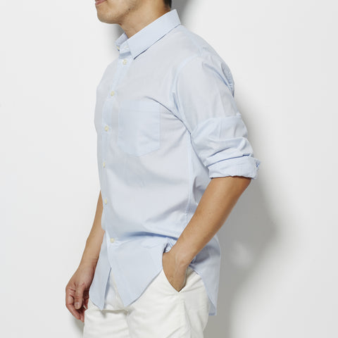 001 Shirt - Pale Blue