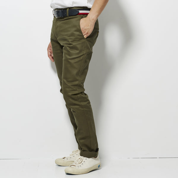 Footage Slim Chino Pants - Military