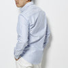 Footage 001 Jacquard Oxford Shirt - Blue/White