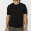 James Perse Men's Short Sleeve Crew Neck T Shirt - Black