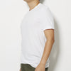 James Perse Mens Short Sleeve Crew Neck T-Shirt - White
