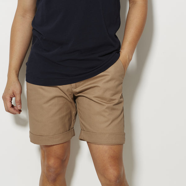 Footage Slim Shorts - Khaki