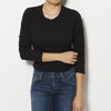 James Perse Long Sleeve Tee - Black