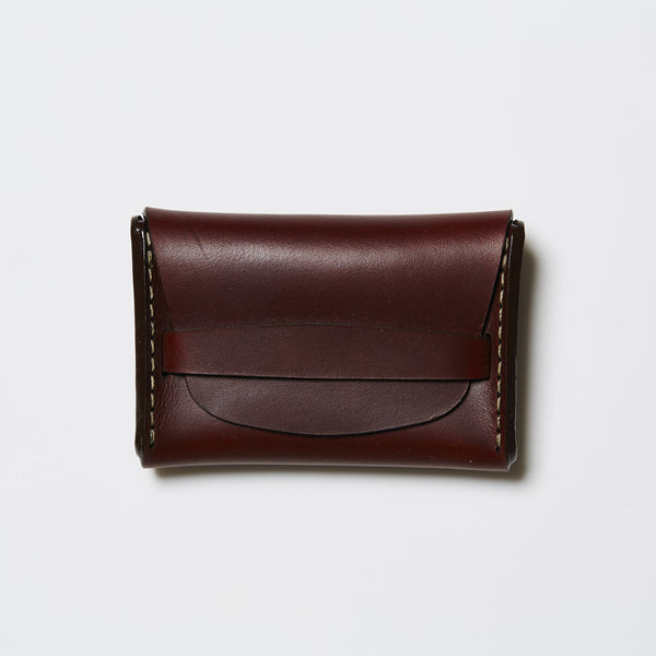 Makr Flap Wallet - Ox Blood Horween® Chromexcel® Leather