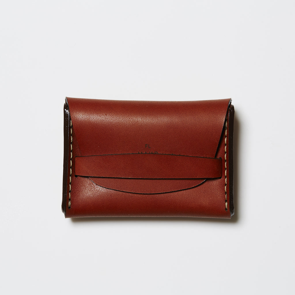 Makr Flap Wallet - Saddle Tan Horween® Leather