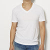 James Perse Men's Short Sleeve V Neck T-Shirt -  White