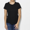 Majestic Filatures Deluxe Cotton Round Neck Tee - Black