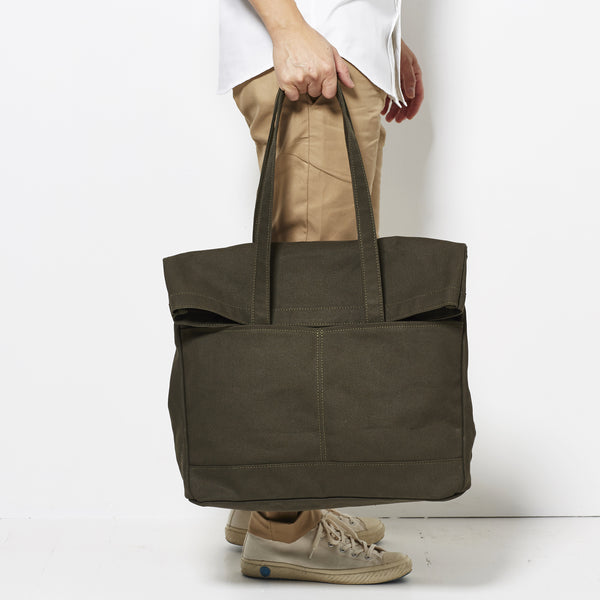 Makr Fold Weekender - Army Green Canvas