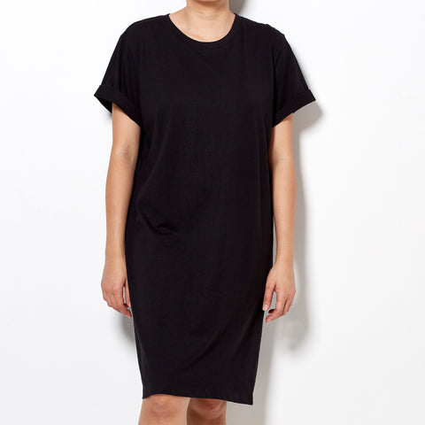 Big Tee Dress - Black