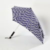 Senz Storm Umbrella - Ikat Blue