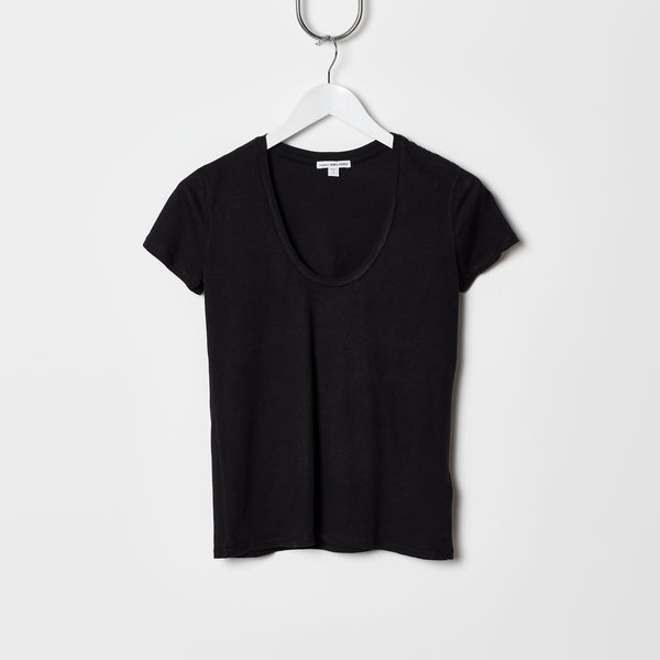 James Perse Relaxed Casual Tee - Black
