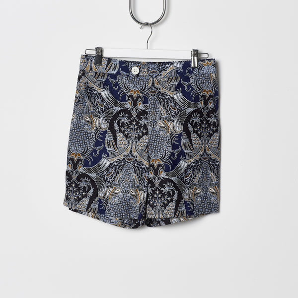 Footage Straits Shorts - Navy/Gold Pineapples