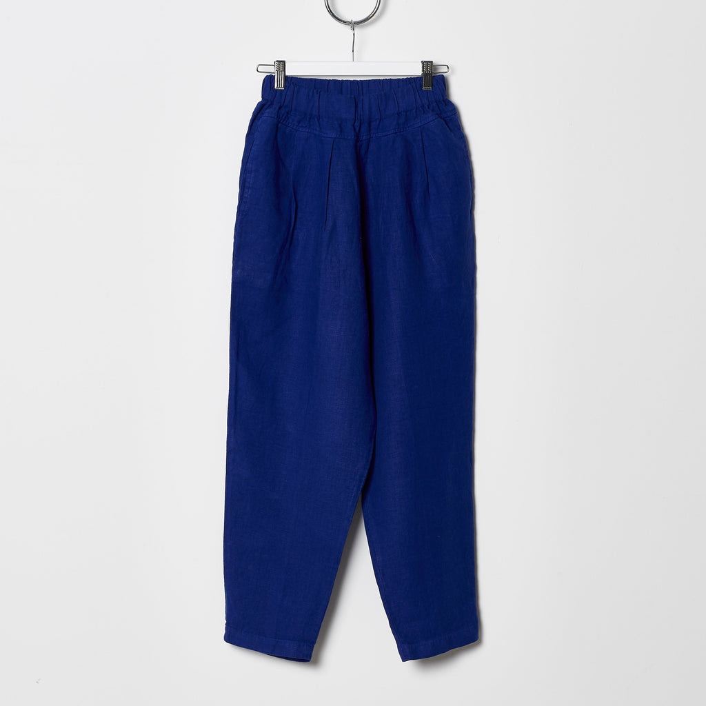 Black Crane Carpenter Pants - Royal Blue