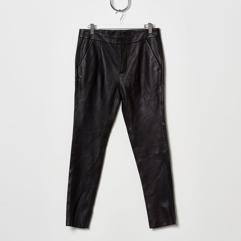 Stand Studio Avery Cropped Straight Leg Pants