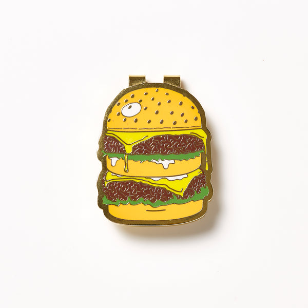 For The Homies Burger Money Clip