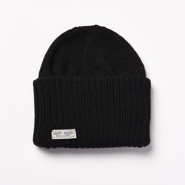 Saint James Barbaresque Beanie - Black