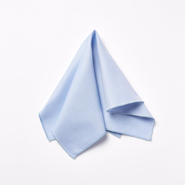 Footage Pocket Square - Baby Blue
