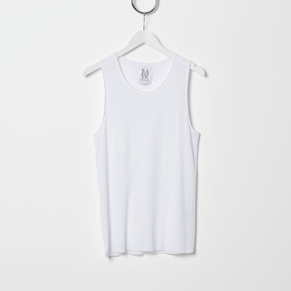 Zoe Karssen Ribbed Cotton Tank