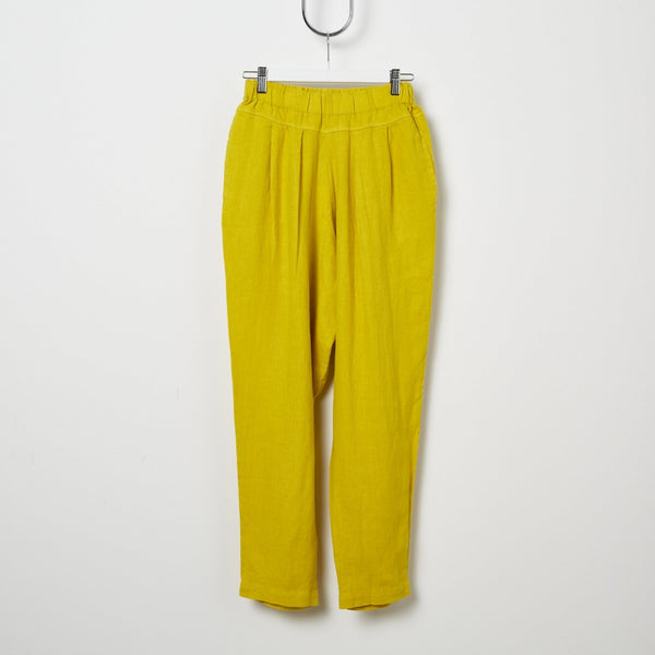 Black Crane Carpenter Pant - Mustard