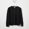 McIntyre Edward Cable Knit Crew Sweater - Graphite
