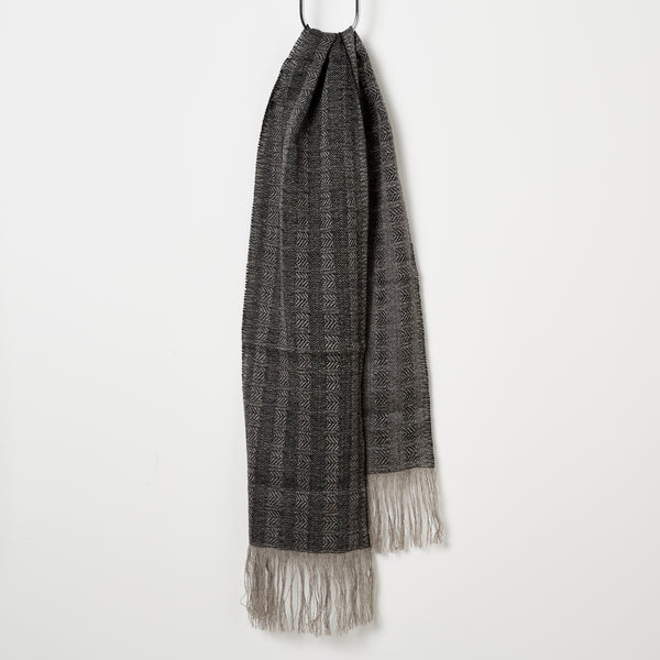 Stansborough Chevron Scarf - Black