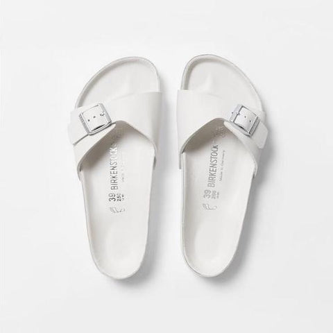 Birkenstock Madrid Exquisite - White Leather