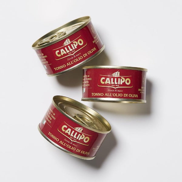 Callipo Tuna in Olive Oil 3 Pack