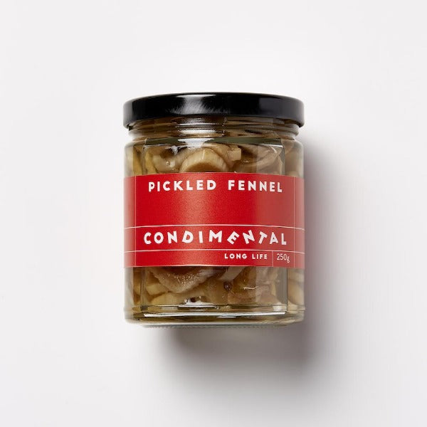 Condimental Myrtled Pickled Fennel