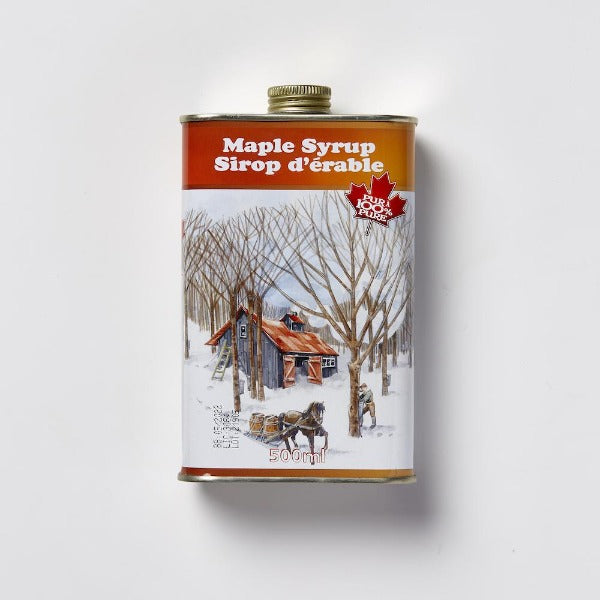 Escuminac Maple Syrup Great Harvest Tin