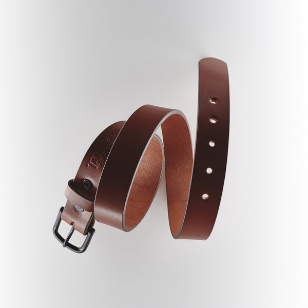 Tanner Goods Classic Belt - Hickory/Black