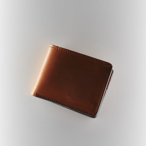 Bifold Wallet - Saddle Tan
