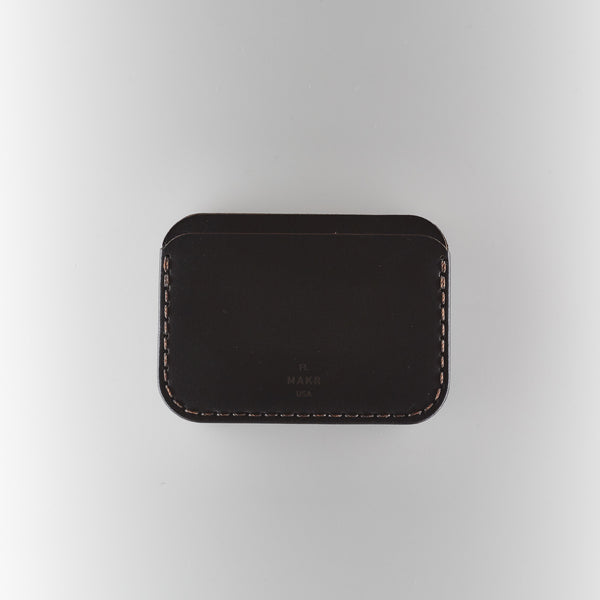 Makr Round Wallet - Black