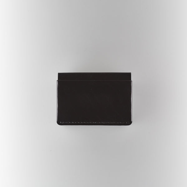 Makr Horizon 4 Wallet - Black Horween Chromexcel Leather