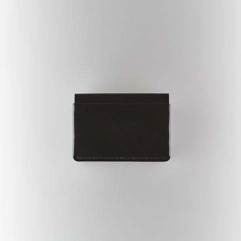 Horizon 4 Wallet - Black Horween Chromexcel Leather
