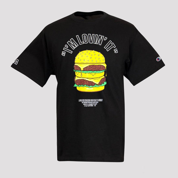 For The Homies I'm Lovin It Tee - Black