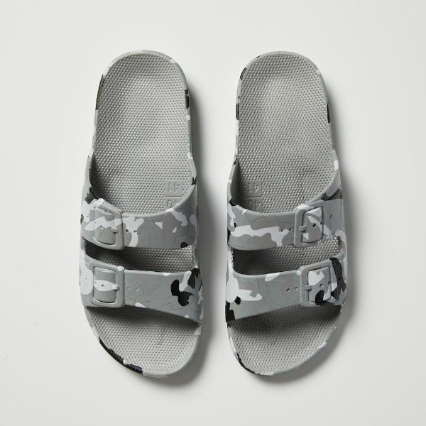 Freedom Moses Sandals - Grey Camo