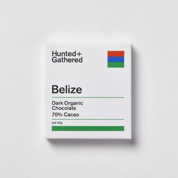Hunted + Gathered Belize Chocolate
