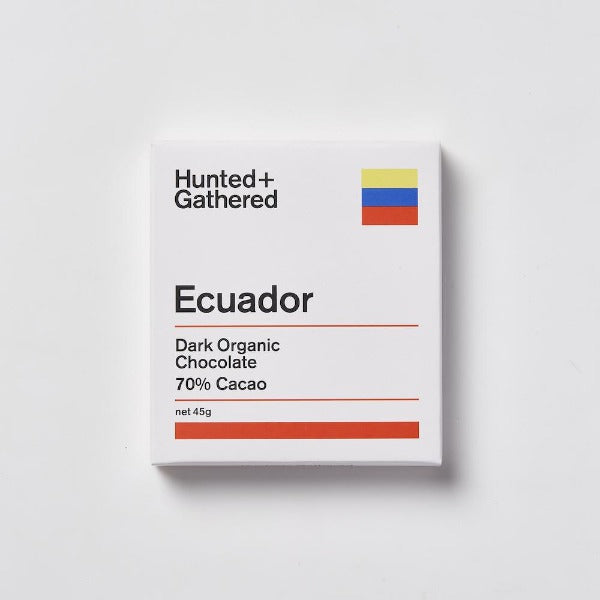 Hunted + Gathered Ecuador Chocolate