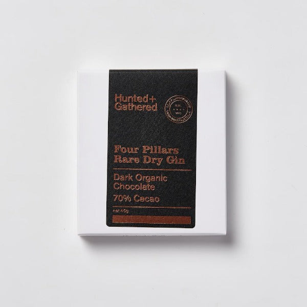 Hunted + Gathered Four Pillars Gin Chocolate